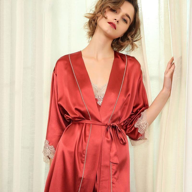 women's silk nightgowns